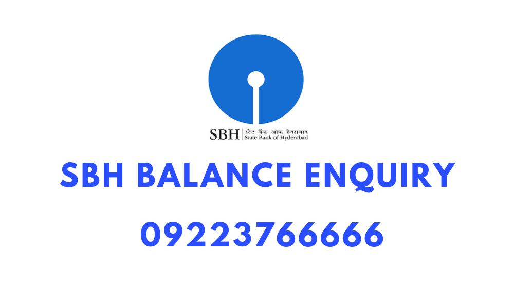 sbh balance enquiry