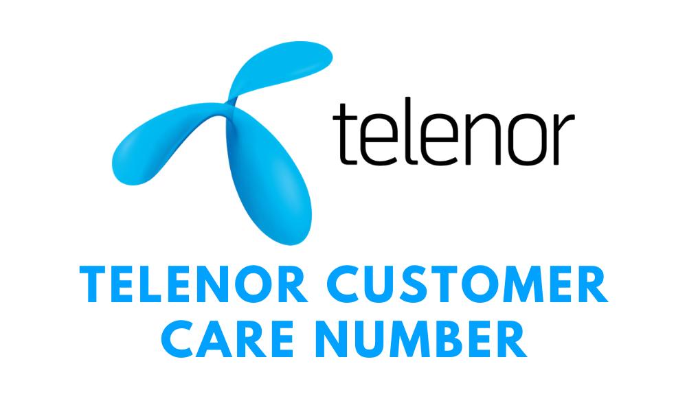 Telenor Customer Care Number
